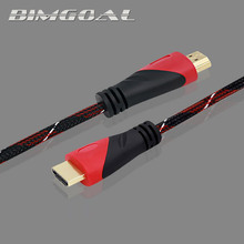 HDMI Cable with mesh HDMI to HDMI Cable 1m 1.5m 2m 3m 5m 8m 10m 15m HDMI Cable 4K 1080P 3D for PS3 Projector HD Computer Cable