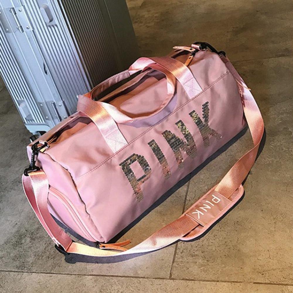 Bolso rosado de viaje PINK