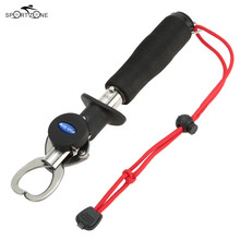 15kg/33LB Weight Portable Fishing Grip Stainless Steel Handle Grab Carp Fish Lip Gripper Fishing Tackle Tool Alicate De Pesca