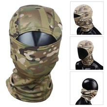 Quick Dry Multi-functional Hood Mask Paintball Scarf Camouflage Veil Mesh Breathable Chief Rattlesnake Full Face Outdoor Cycling