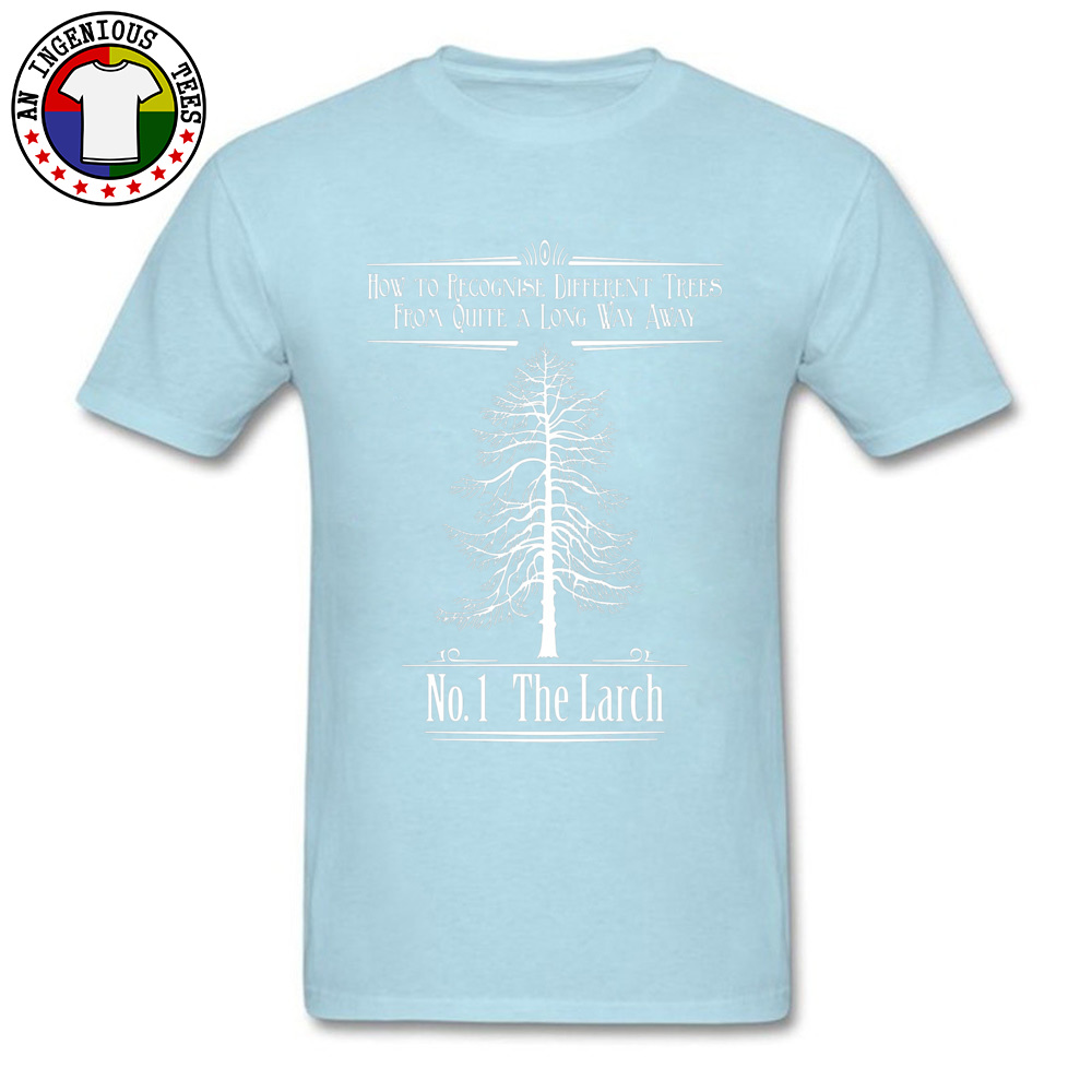 Tops T Shirt No. 1 The Larch 3301 T Shirts Autumn Funky Customized Short Sleeve 100% Cotton O-Neck Men T-Shirt Customized No. 1 The Larch 3301 light