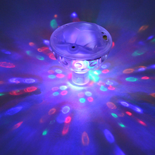 Waterproof Underwater LED Disco Aqua glow Light Show Light Show Pong Pool Spa Tub Child Toy Ball Bulbs