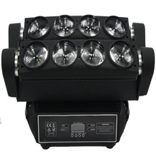 4pcs/lot promotion for Christmas big spider beam 8x10w led moving head light