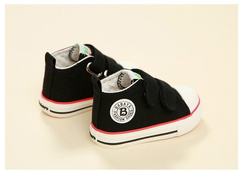 Enfants chaussures pour fille enfants toile chaussures garçons 39