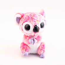 Ty Beanie Boos Original Big Eyes Plush Toy Doll Child Birthday 10 - 15cm Pink Koalas TY Baby For Kids Gifts(China)