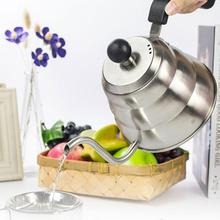New 1L Stainless Steel Hight Quality Coffee Drip Kettle Tea Pot coffee pot Coffee Maker kettle(China)