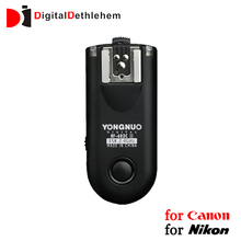 YONGNUO 2.4GHz Radio Wireless Sync Flash Trigger Shuttle Relaase Remote Control for Canon Nikon RF-603II RF603 II C1 C3 N1 N3
