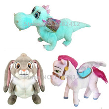 Princess Sofia the First Royal Friends Minimus Horse Crackle Dragon Clover Rabbit Bunny Plush Toy Stuffed Animals Girls Toys