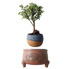2017 japan magnetic levitation Floating Plants Ceramic Pots Garden Art birthday Gifts for Men free shipping (no plant)