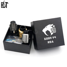 GOON V4 RDA Tank Vapor 24MM Rebuildable Dripping Atomizer Peek Insulator Airflow Control For Electronic Cigarette Mod