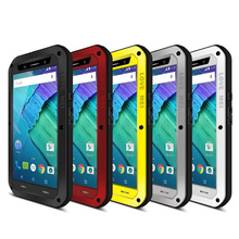 Original Love Mei Powerful Life Waterproof Metal Case For Motorola MOTO X Style/Moto X Pure Edition/XT1570 Shockproof Cover