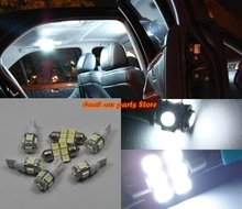 10PCS Bright White LED interior lights package Kit For 2010-17 Hyundai Genesis Coupe(China)