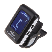 Acoustic Guitar Digital Clip-on Tuner LCD Screen Electronic Tuner Mini Automatic Guitar Tuner for Guitar(China)