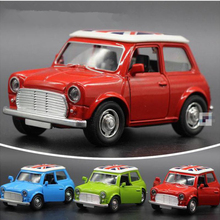 Mini Metal Toy Car 1:36 Diecast Cars Fashion Cooper Model Car Dinky Toys For Children Alloy City Vehicles Toy Brinquedos