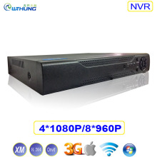 Low Price Network Video Recorder 4CH 1080P 8CH 960P NVR Hi3520D Chip Xmeye Support Onvif Motion detection P2P For 1MP 2.0MP IPC