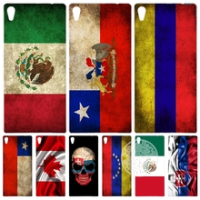 slovak mexico canada chile colombia flag Cover phone Case for sony xperia z2 z3 z4 z5 mini plus aqua M4 M5 E4 E5 C4 C5 XA