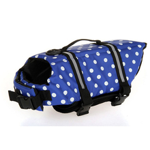 Fashion XS/S/M/L/XL Dog Jacket Pet Safety Vest Preserver  Pets Clothes Puppy Coat Dog Swimwear Puppy Life Vest Safety Clothes