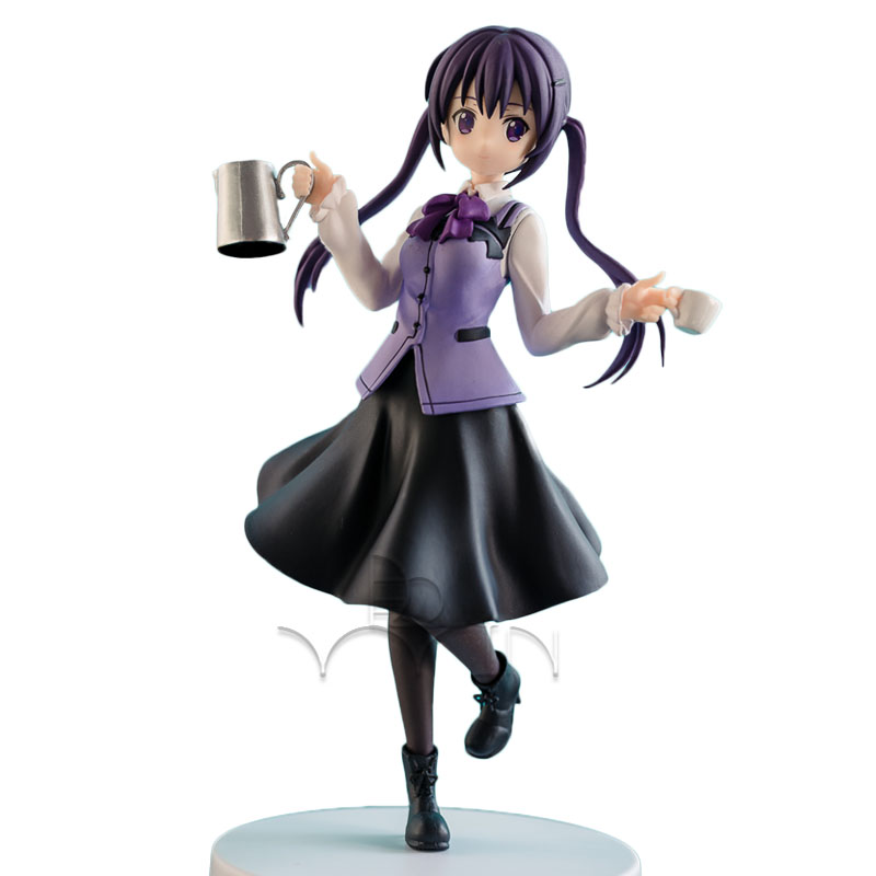 Gochuumon wa Usagi desu ka (Is the order a rabbit?) maid dress Tedeza Rize figure Rabbit House model<br>