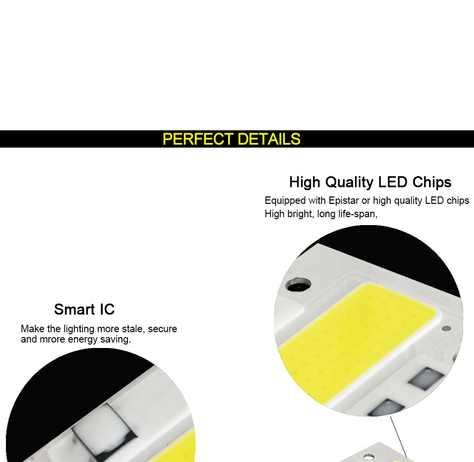 AC 110V 220V LED COB Lamp Chip 20W 30W 50W 100W 150W Full Spectrum LED Plant Grow Light Driverless Smart IC DIY LED Floodlights (9)
