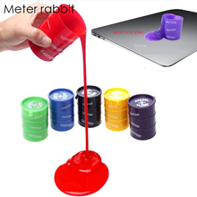 Barrel Slime antistress Fun Shocker Joke Gag Prank Toy Crazy Trick Party Supply Paint Bucket Novelty Funny Toys Practical Jokes(China)