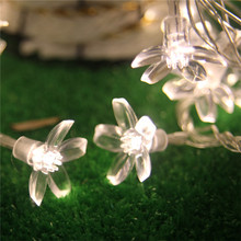 2015 Christmas Necessity Luminaria outdoor 10M 80 led Battery LED Fairy String Lights Cherry Blossoms Wedding New Year Lights
