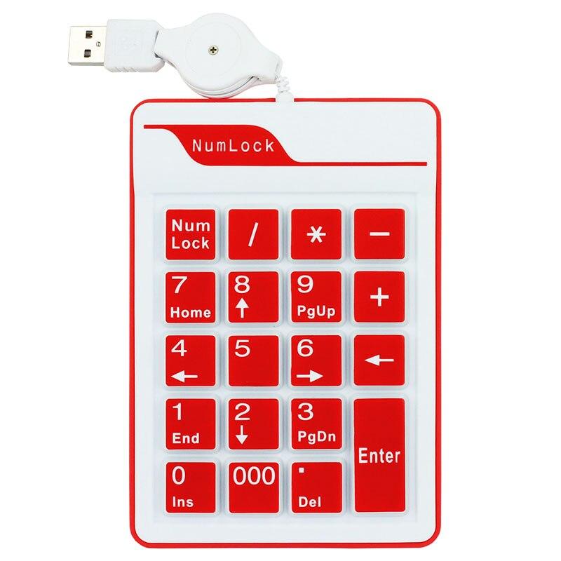 KPC1283R_1_19 Keys Silicone Air Touch Numerical Keypad