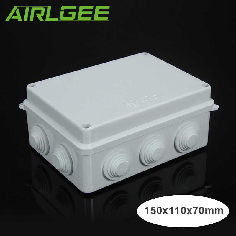 detail feedback questions about ip65 industry high qualitydetail feedback questions about ip65 industry high quality electrical wire dust proof rainproof box abs plastic white monitor power waterproof junction box