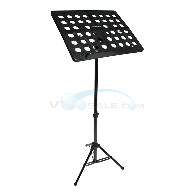 Flanger FL-05R FFolding Music Tripod Stand Aluminum Alloy for Guitar Performance Foldable Small Music Stand<br>