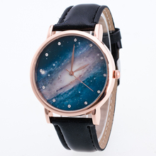 Bright Skin Color Star Meteor  Women Men's Watch New Fashion Casual Style Ladies Watches  Simple Wristwatch Clock