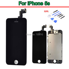 100% Test OEM Quality for iphone 5s se lcd display and touch screen digitizer assembly+ front camera replacement parts