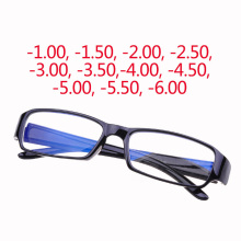 -1.0 to -6.0 myopia Eyeglasses 2017 Hot Men Women coating Anti-radiation Lens prescription Optical Eye Glasses Frames