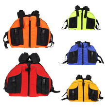 Water Sports Outdoor Polyester Adult Life Jacket Universal Swimming Boating Ski Boat Drifting Vest Survival Suit Free Shipping