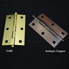 20PCS/LOT  Home Furniture Hardware Door Hinges Cabinet Cupboard Butt Hinge With Matching Screws