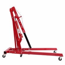 (Shipping From US )Foldable 2T Ton 4400lb Hydraulic Engine Hoist Shop Crane Jack Lift Hand Operated(China)
