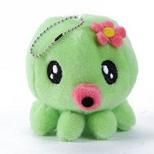 10 cm Octopus Stuffed Toys Plush Toy Baby Kids Plush Toys Animal Soft Cartoon Playing Cloth(China)