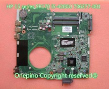 736377-001 736377-501 For HP 15 series 15-n005TX laptop motherboard CPU SR170 i5-4200U CPU 100% tested