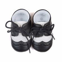 2016 new Romirus lace-up baby Pu leather Moccasins infant suede boots first walkers Baby Newborn hard sole baby shoes