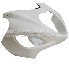 100% Virgin ABS Plastic Front Fairing Head For SUZUKI GSX1300R GSXR1300  HAYABUSA 1999-2007 Upper Fairing Nose Cowling NEW