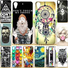 Perfect Design Soft TPU Back Cover Case For HTC Desire 626 626G 626G+ Soft TPU Silicone Case Phone Cases For HTC 626(China)