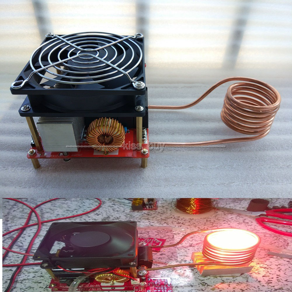 Tracking number  DC 24-36V 20A Diy ZVS induction heating board Flyback driver heater Cooker+ ignition coil<br>