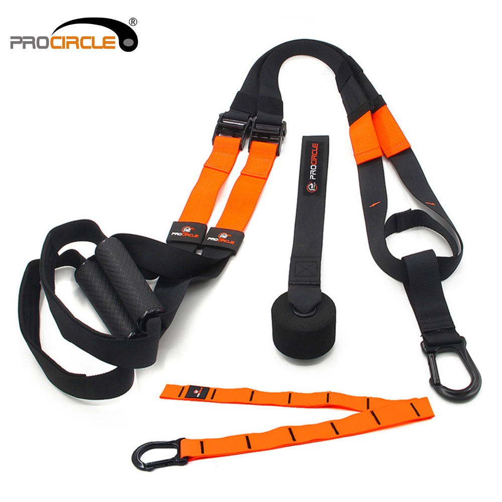 Fitness Resistance Bands Hanging Strap Suspension straps Strength Training Equipment Perfect for Travel and Working Outdoor <br>