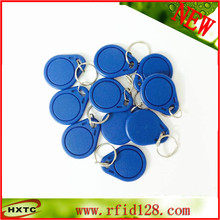 50PCS HF/13.56MHz rfid NFC Smart IC Key Fobs/Tags/Cards For Channel Access Control / Keyless Access Door Lock  Free Shipping