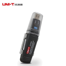 UNI-T UT330A/B/C USB humidity temperature Data logger thermometer barometric pressure logger -40~80C(-40~176F) high-precision(China)