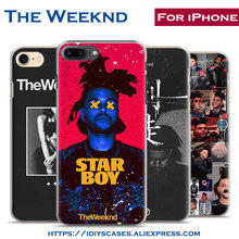 The Weeknd Starboy pop singer Popular coque Phone Case Cover Shell Bag For Apple iPhone 7PLUS 7 6SPLUS 6S 6PLUS 6 5 5S SE 4 4S