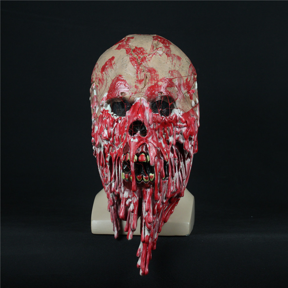 Halloween Steampunk Horror Skull Teeth /& Vintage Goggles Mask