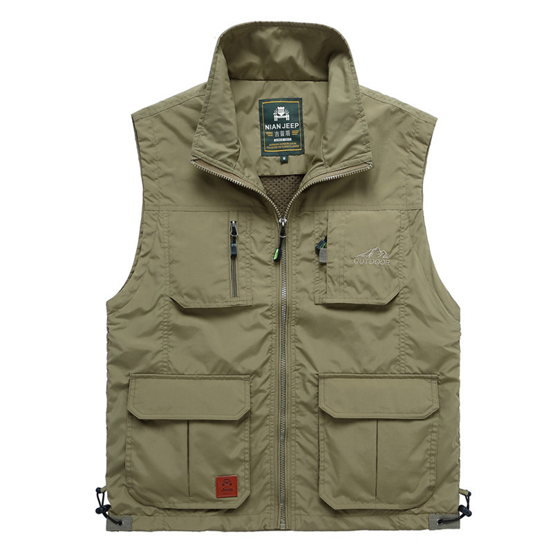 Outdoor Mens Jacket Sleeveless Good Quality Travels Vest Men Waistcoat Male breathable Sport  Hiking JIANJEEP Brand Clothing<br><br>Aliexpress
