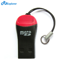 RSExplorer CardReader High Speed 2.0 Mini Micro SD T-Flash TF M2 USB Memory Plastic USB Card Mini Micro sd Card(China)