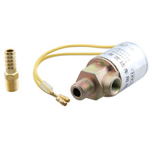 "1/4"" Metal Train Truck Air Horn Electric Solenoid Valve Heavy Duty 12V 24V for Car Air Ride System(China)"
