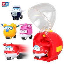 4 style Catapult Super Wings Aircraft Robot Action Figures Rocket Shot Toys for children gift Brinquedos(China)