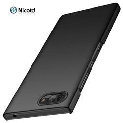 Чехол-накладка для телефонов Blackberry Keyone, Key2, тонкий, пластиковый, из поликарбоната, ударопрочный
